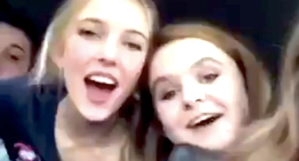Giggling Utah cheerleaders scream 'f*ck n*ggers' in widely shared Instagram video