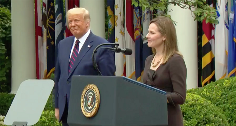 'A truly horrifying pick': Fury over Trump nomination of Amy Coney Barrett to SCOTUS