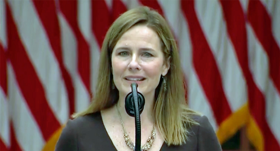 Justice Amy Coney Barrett is the culmination of a five-year-long misogynist temper tantrum