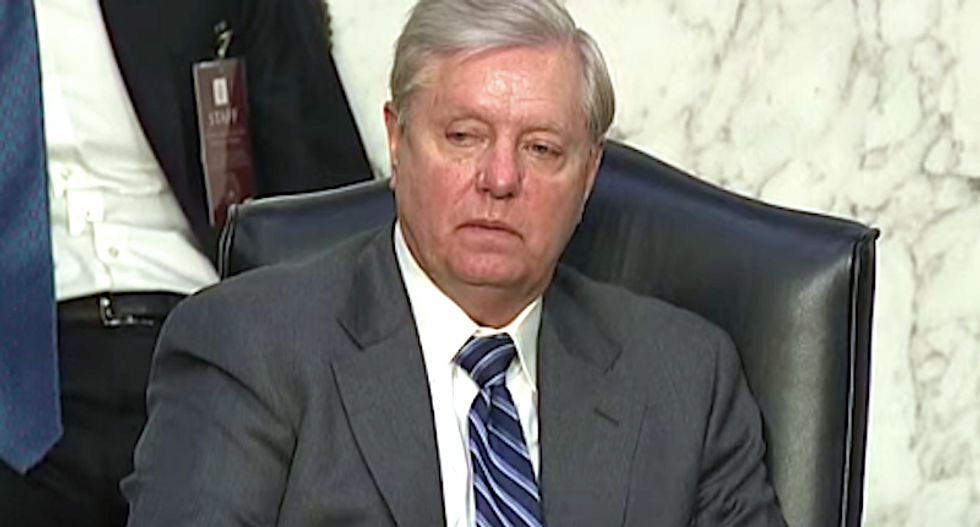 Trump's collapsing campaign is crippling Lindsey Graham's re-election hopes: report
