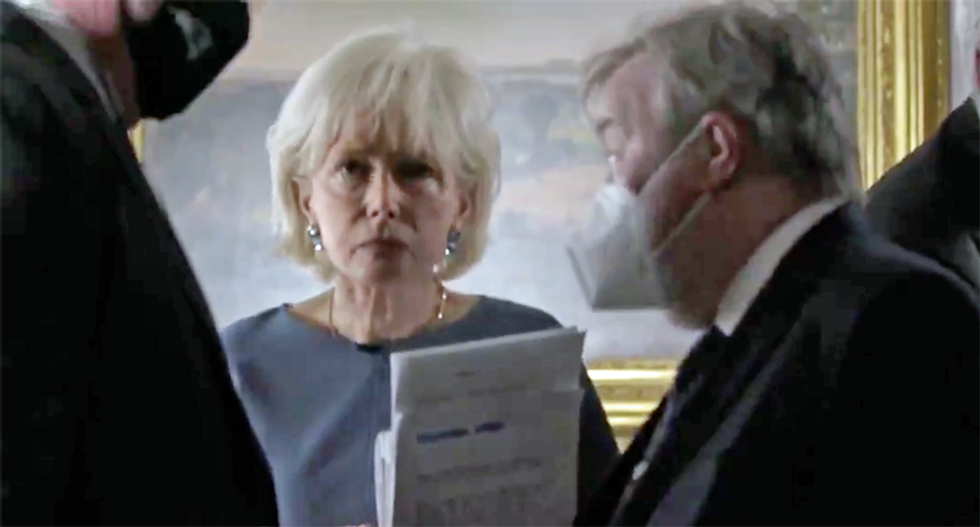 Trump mask-shames CBS reporter Lesley Stahl — and ominously warns 'much more to come'