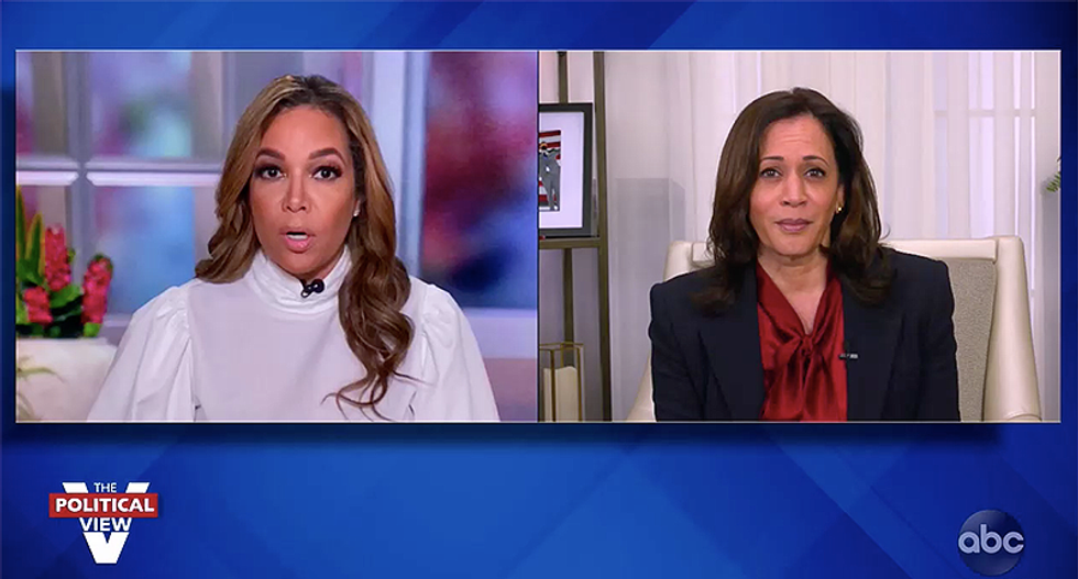 Kamala Harris tells The View that Biden's DOJ would be free to decide whether or not to prosecute Trump