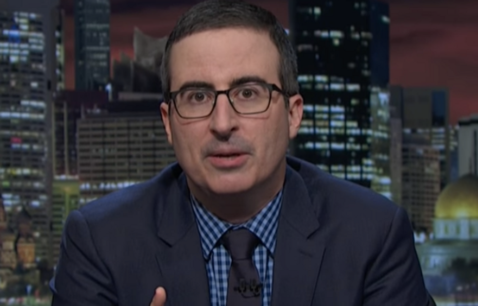 John Oliver: No network should invite Kellyanne Conway and her 'language jujitsu' on another show