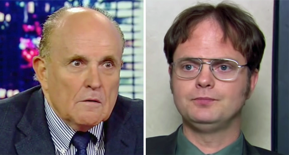 Fox News personality says Trump attorney Rudy Giuliani is the White House's Dwight Schrute