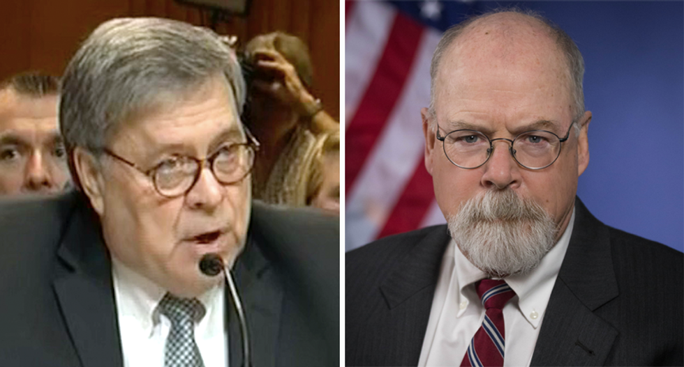 Is Bill Barr working with US Attorney investigating Mueller report to legitimize conspiracy theories?