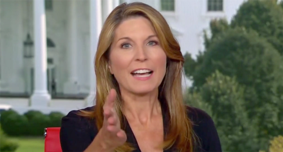 'He's the guy who said ride it out!' Nicolle Wallace attacks Trump as 'the phantom' making things worse