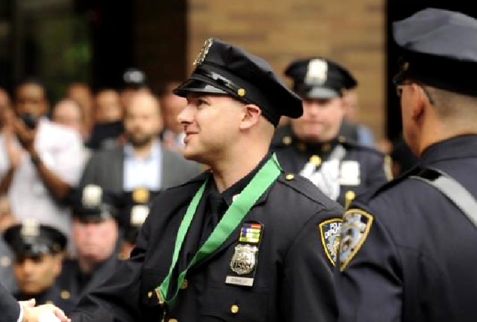 NYC cop accused of breaking into woman's home, beating her: 'Sometimes I'm a bad guy'