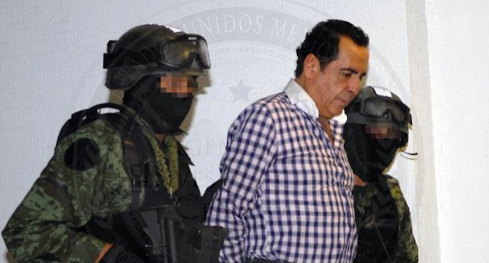 Drug lord 'El H' captured in Mexican tourist haunt