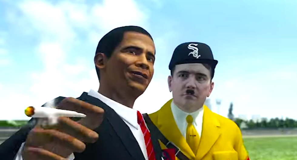 'Republican' punk rockers troll conservatives with ironic 'Obama' video