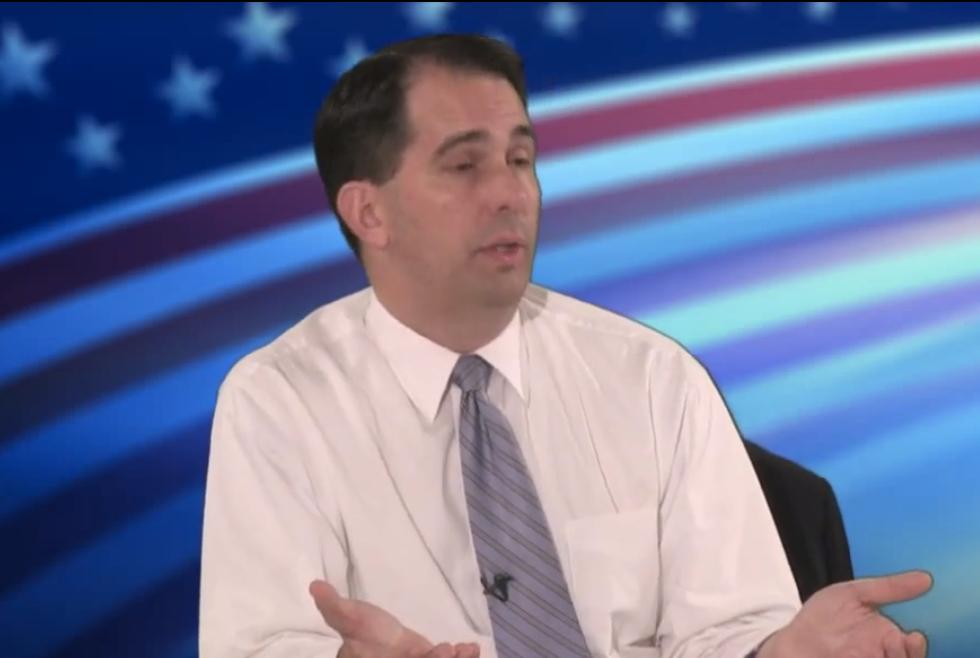 Wisconsin Gov. Scott Walker doesn't think having a minimum wage 'serves a purpose'