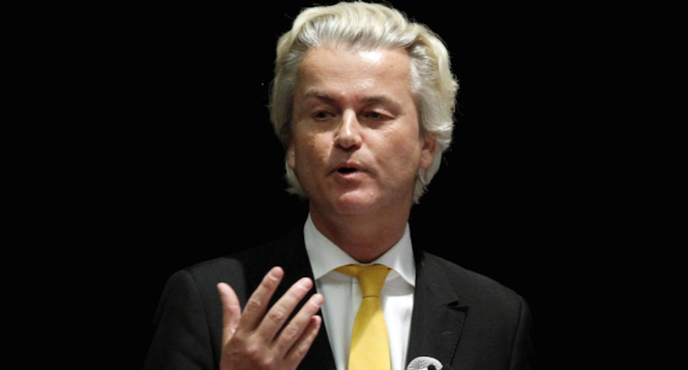 Dutch extremist Geert Wilders expects Trump win to boost Europe's racist right