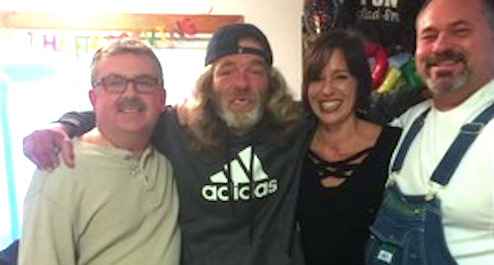 Arkansas couple drives homeless man 600 miles to reunite with long-lost family