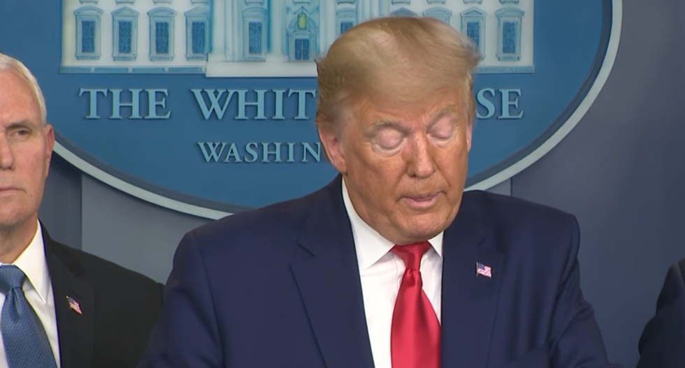 Trump admits more coronavirus cases 'likely' — hours after calling Democratic alarm a 'hoax'