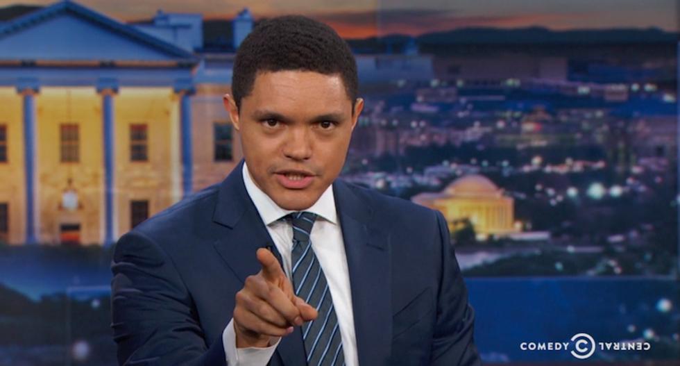 Trevor Noah talks to 'Jefferson,' not 'Hamilton,' about Electoral College