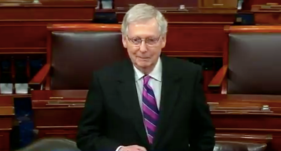 Mitch McConnell 'spits on the Constitution': MSNBC analyst bashes GOP Senate leader