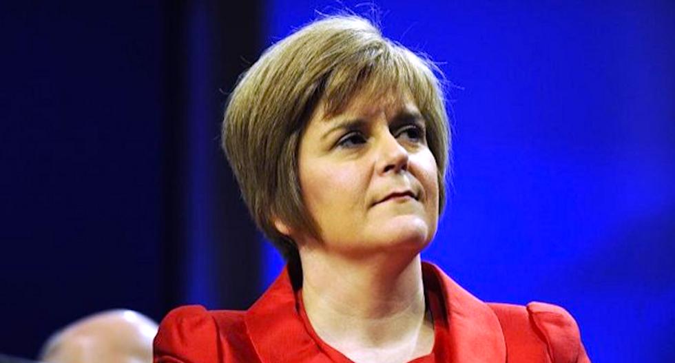 Trump phones Scottish leader who called him 'abhorrent'