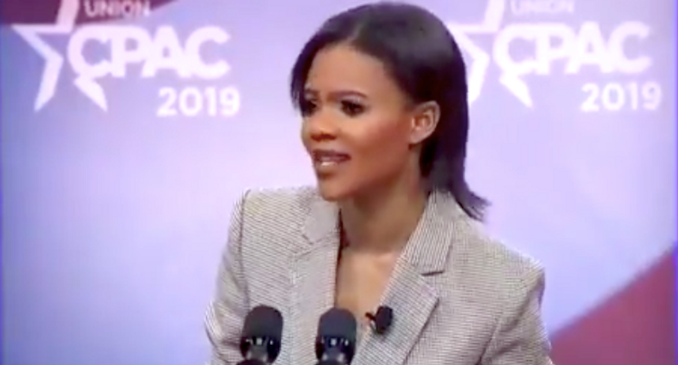 WATCH: Trump-loving Candace Owens launches off-the-rails rant against Antifa in hearing on white supremacy