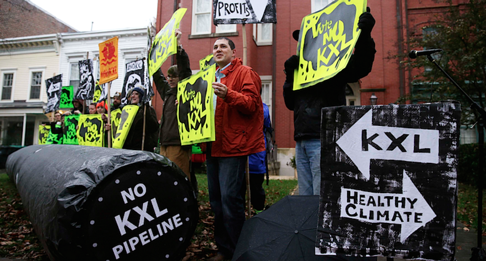Senate heads for vote on Keystone XL pipeline