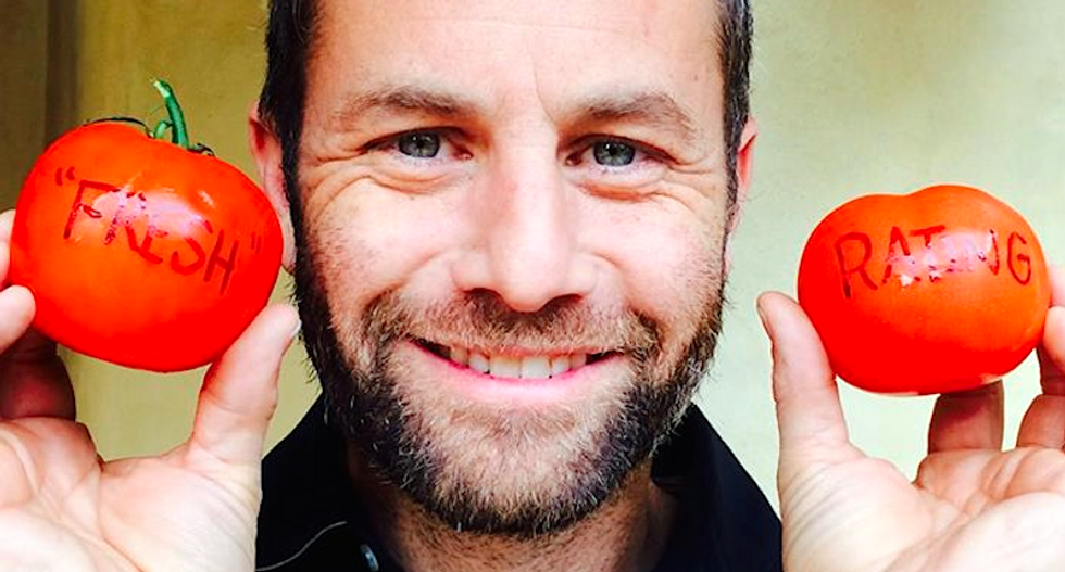 Kirk Cameron is begging fans to help boost his movie's putrid rating on Rotten Tomatoes