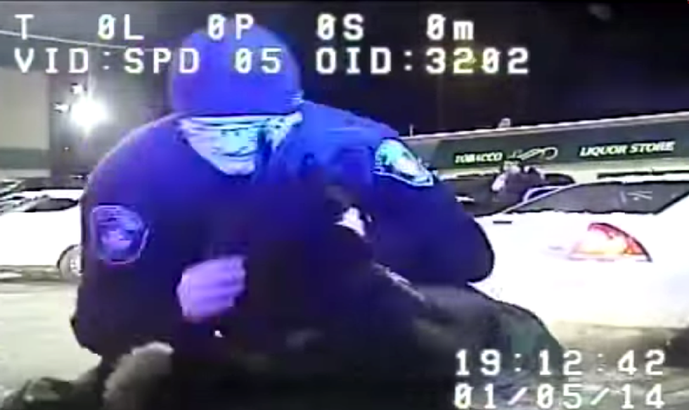 After brutal attack on unarmed woman, Wisconsin cop suspended 1 day  -- for swearing