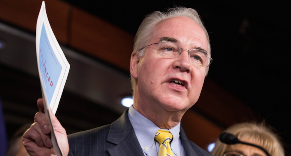 The potential costs of Tom Price as HHS secretary