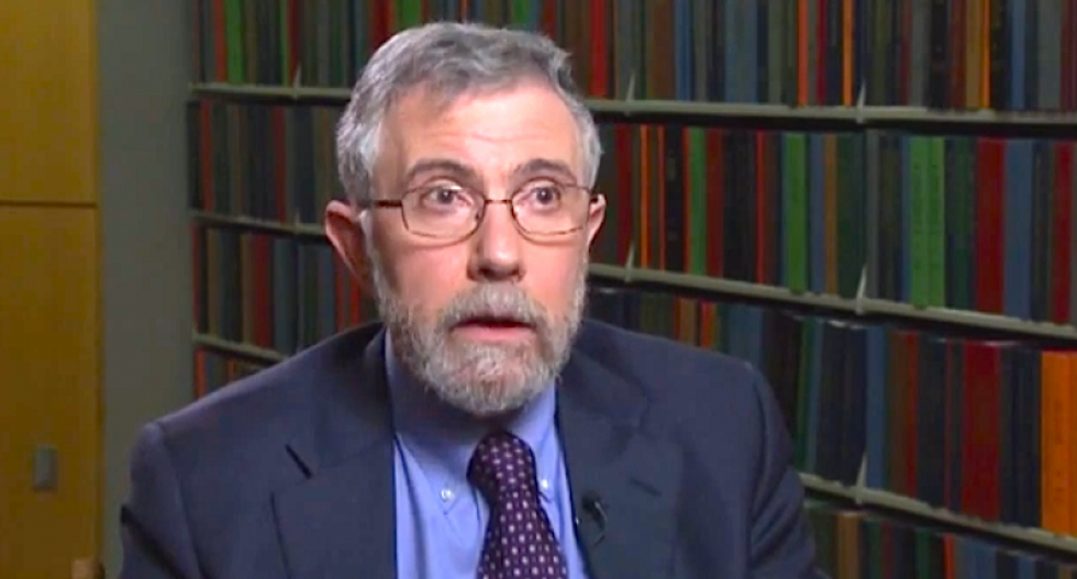 Paul Krugman accuses GOP of 'flat-out lying' about everything because they know their Fox News fans will believe anything