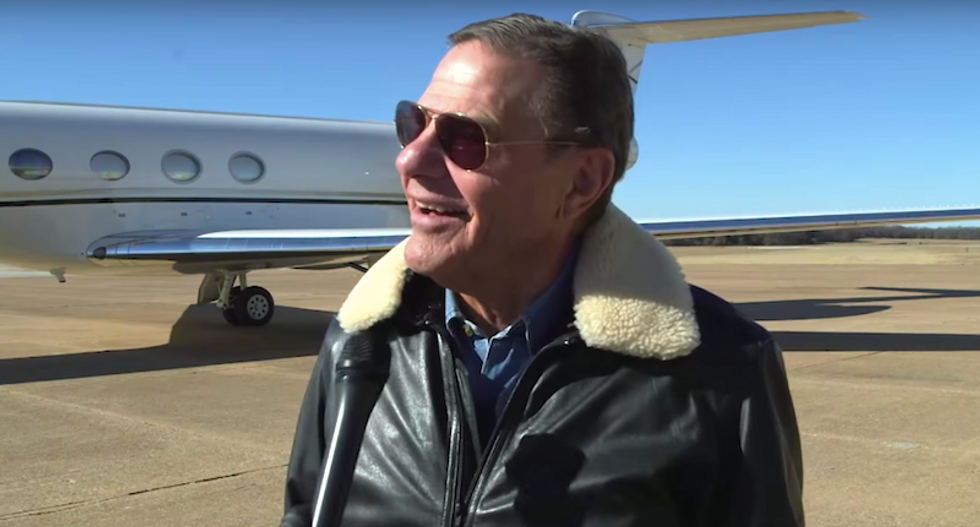 WATCH: Prosperity gospel pastor cackles in delight after followers buy him a new jet