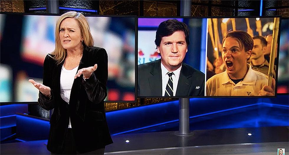 Samantha Bee: 'Tucker Carlson is a white supremacist'