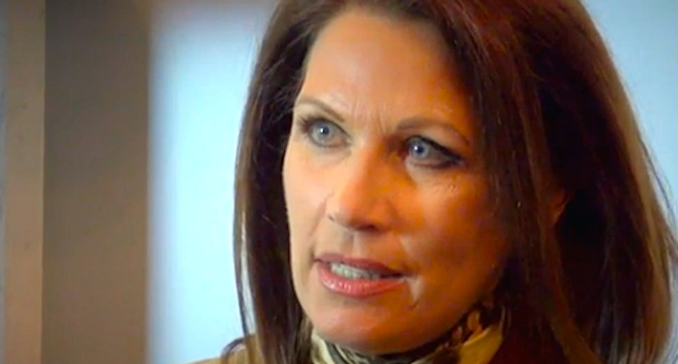 'Pray for the crown prince': Michele Bachmann and other end-times evangelicals turn up in Saudi Arabia