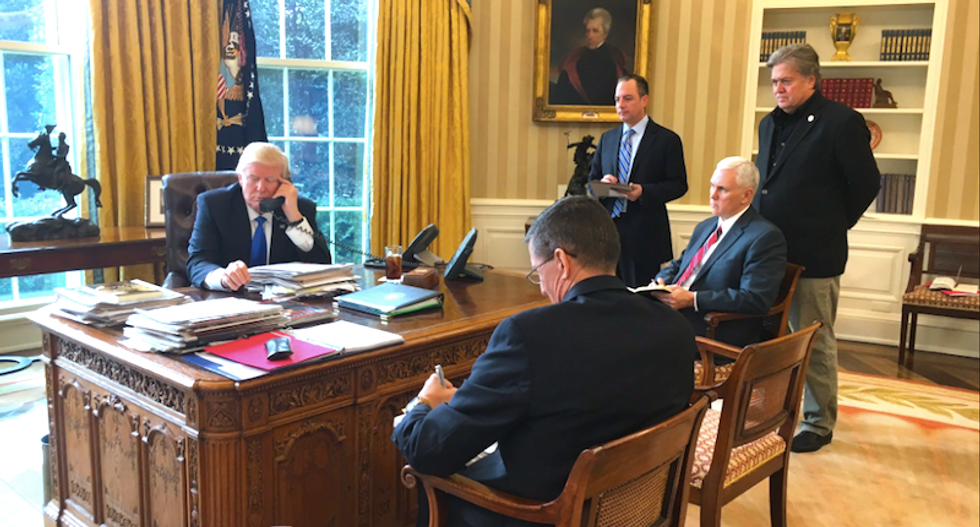'March Madness in the West Wing': Internet jeers over report White House staffers have a 'betting pool' for who's next to go