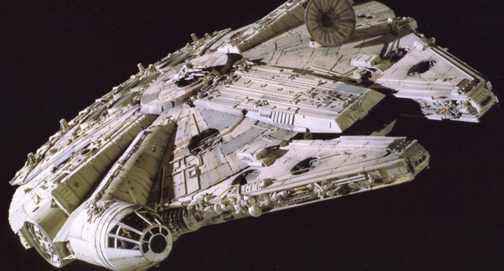 WATCH: Star Wars super fan building full-scale replica of The Millennium Falcon