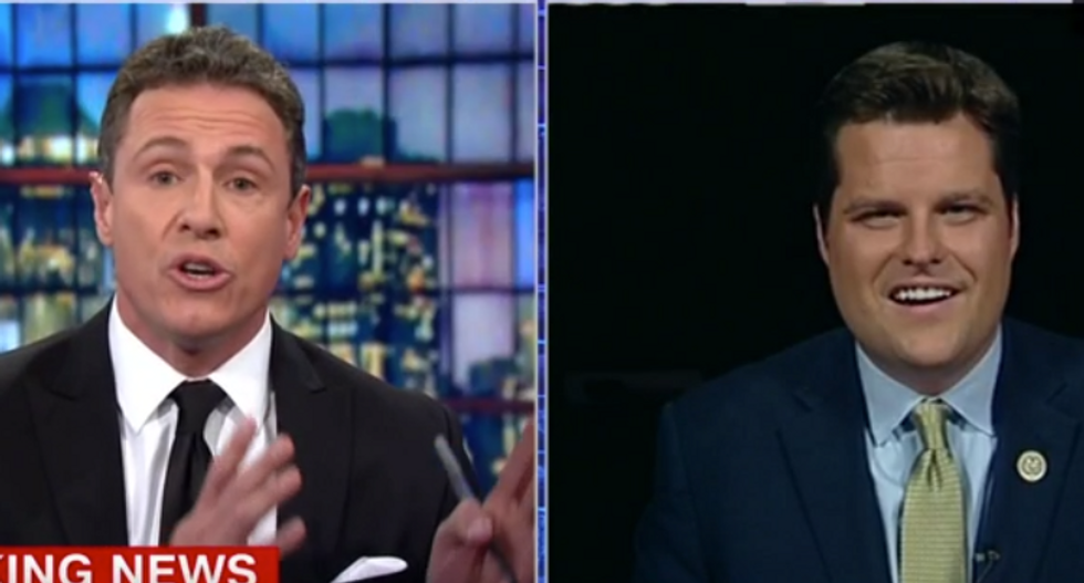 'Facts matter': CNN's Cuomo schools Trump-backing House Rep. bizarrely comparing FBI texts to 'Immaculate Conception'