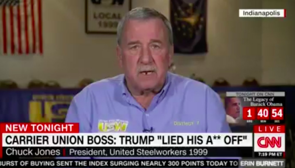 Union head blows off 'lowlife' Trump Twitter tantrum: 'I don't pay a hell of a lot of attention to him'
