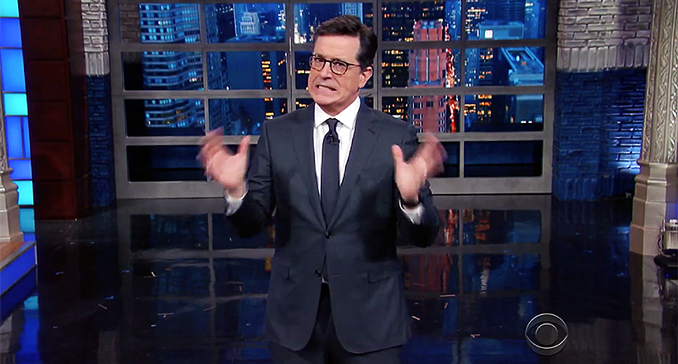 Colbert hilariously mocks Trump's EPA pick: It's like appointing Joe Camel to be Surgeon General