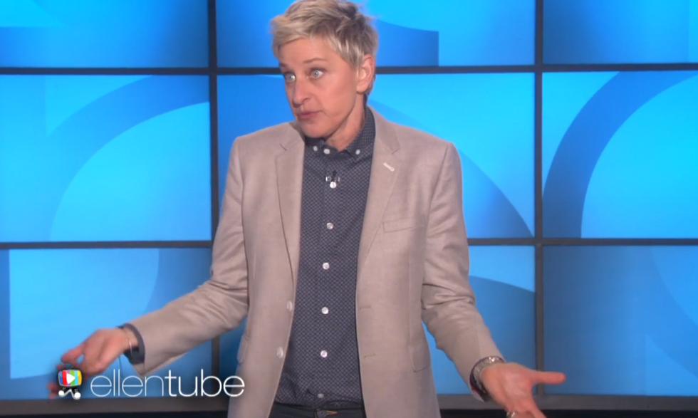 WATCH: Ellen DeGeneres mocks angry conservative pastor by revealing her true 'gay agenda'
