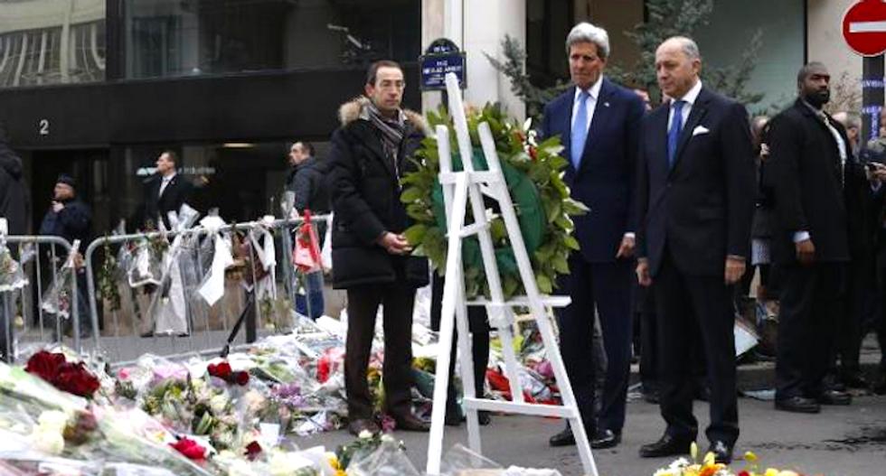 John Kerry apologizes for missing Paris anti-terrorism rally