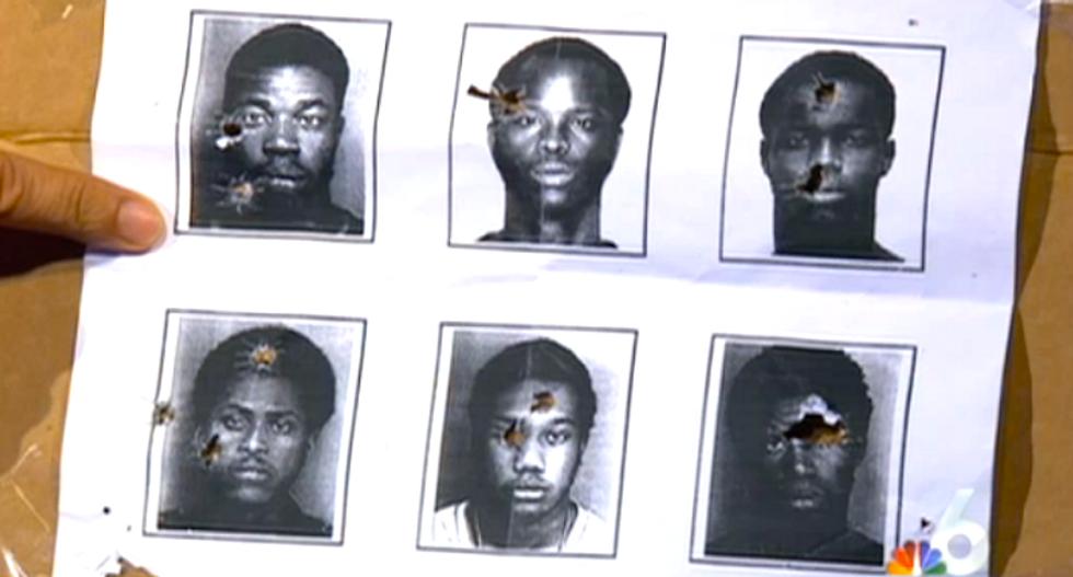Florida police department uses black men's mugshots for target practice