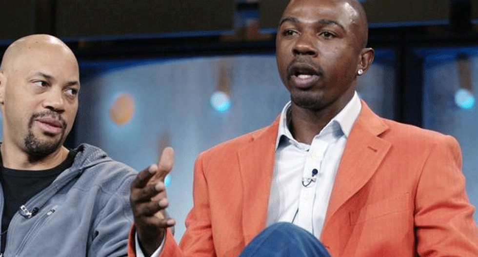 CBS suspends sports analyst Greg Anthony after his arrest for soliciting prostitution