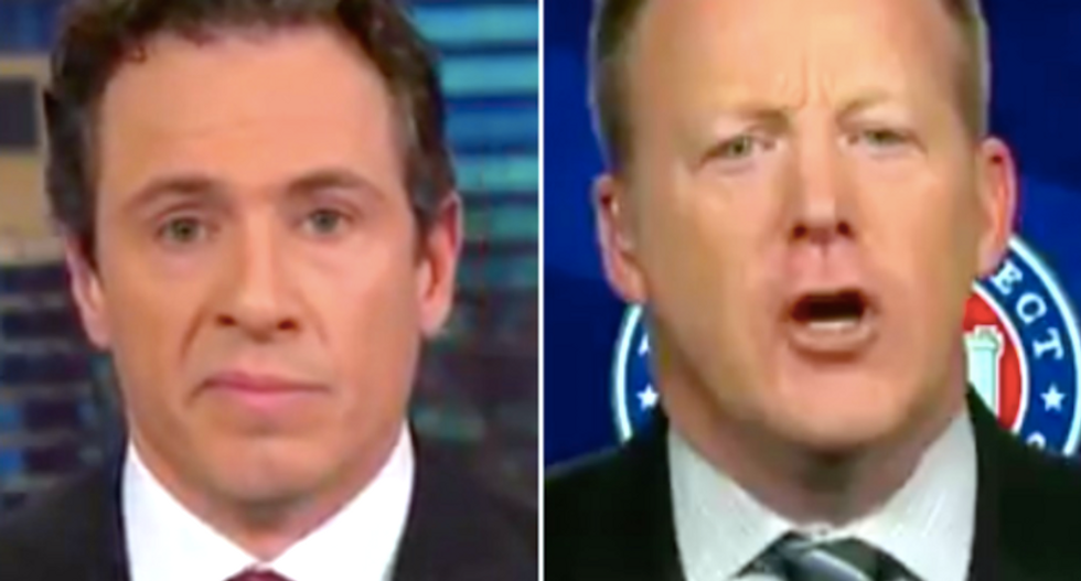 CNN segment goes off the rails when Cuomo calls out RNC official's lies about Trump's 'overwhelming' win