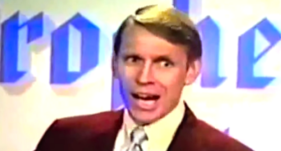 The next right-wing folk hero? A tax-dodging creationist who thinks demons pilot UFOs