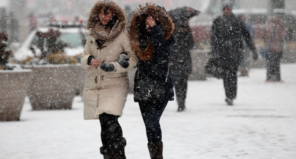 In US Midwest, 22F 'feels like spring' after days of brutal cold