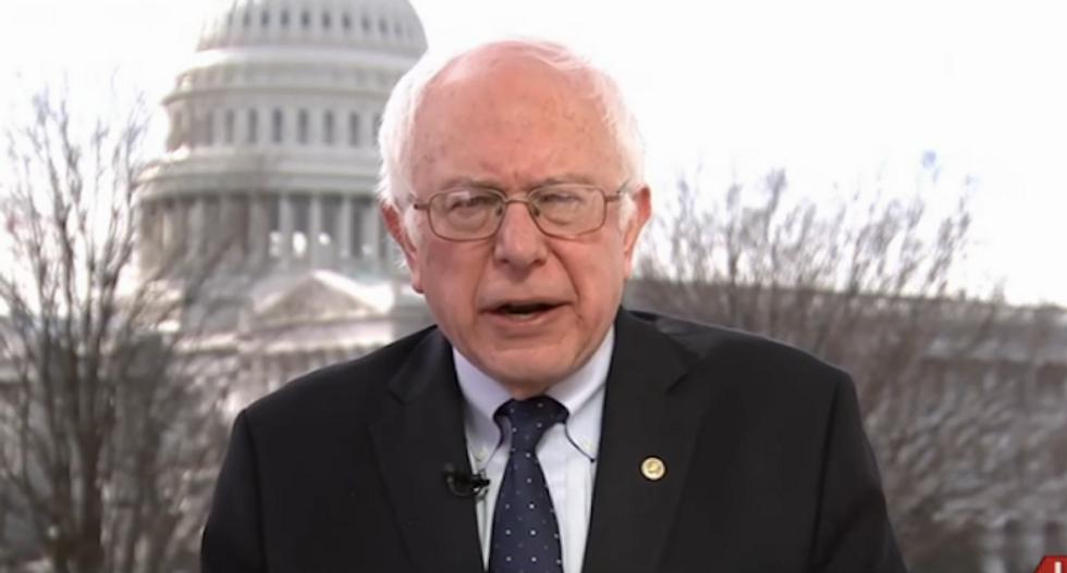 Sanders slams big pharma for pumping 780 million opioid pills into West Virginia 'Trump country'