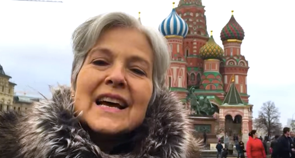 BUSTED: Russia supported Jill Stein with a social media blitz to help propel Trump to Oval Office