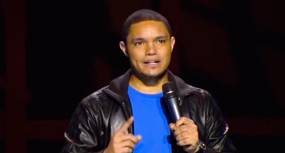 A black guy walks onto the set of 'The Daily Show':  The Trevor Noah shoah