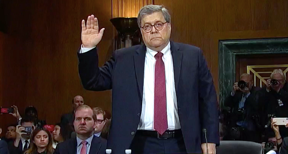 AG Barr's DOJ makes up excuse as administration's rationalization for refusing to turn over Trump's tax returns