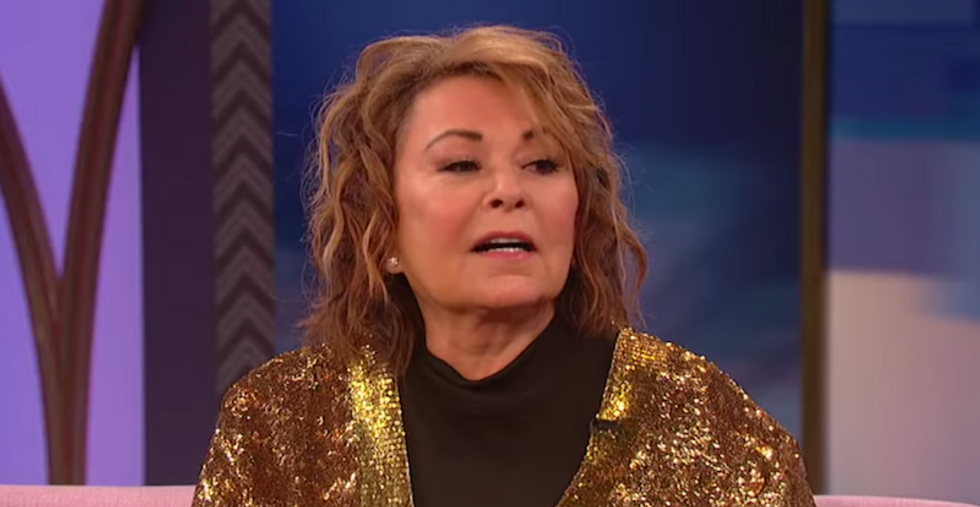 WATCH: CNN panel flays Roseanne for tweeting wild conspiracy theories about Trump and sex trafficking
