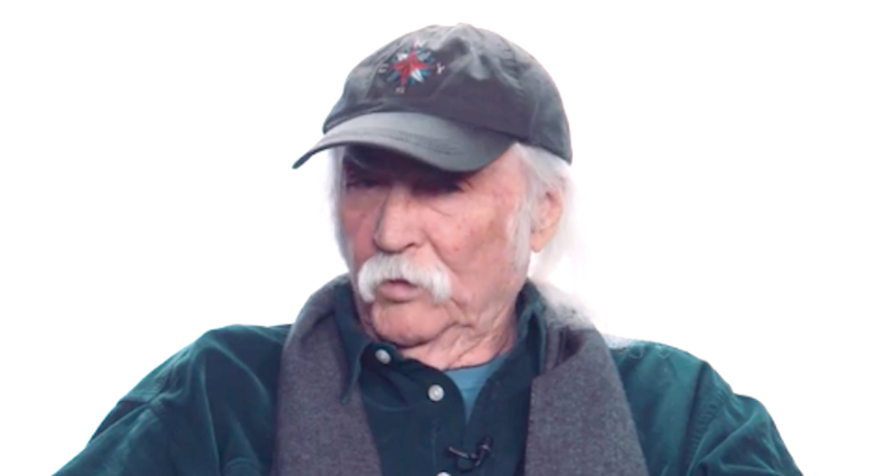 Musician David Crosby advises woman to divorce Trump-supporting husband of 40 years: 'Look for somebody else'