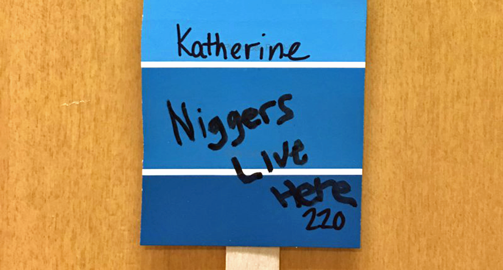 Massachusetts university scrambles to deal with racial intimidation as students find shocking messages in dorms