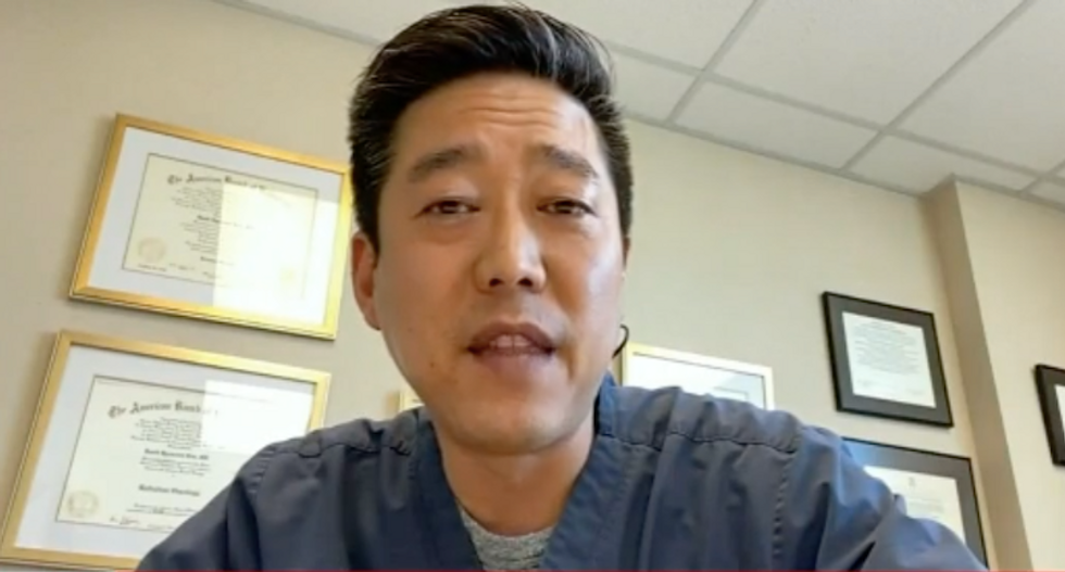 Asian doctor barred from Indiana gas station by 'violent and hateful' clerk upholding 'coronavirus prevention' policy