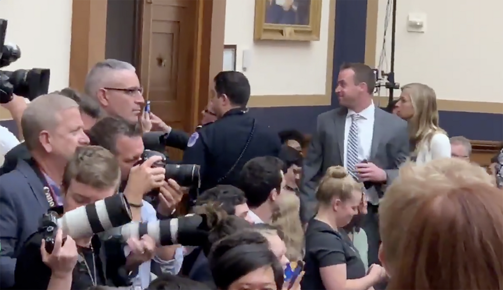 Watch: 'Idiot' protestor thrown out of Mueller hearing by Capitol Police